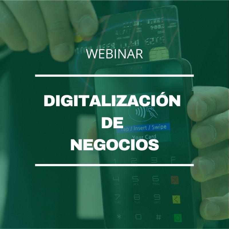 Webinar Digitalización de Negocios