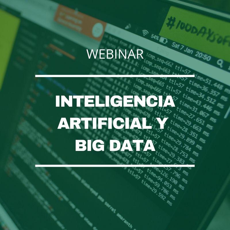 Webinar Inteligencia Artificial y Big Data aplicados al marketing y las ventas