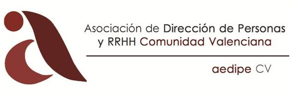 Logo AEDIPE CV, Asociación de Dirección de Personas y RRHH Comunidad Valenciana