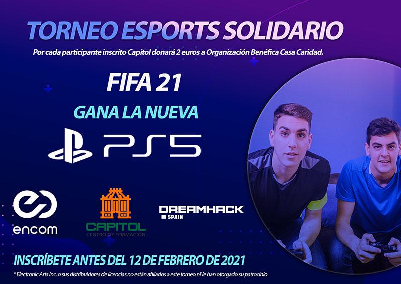Torneo eSports Solidario FIFA 21 Capitol